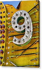 Number Nine Acrylic Print by Garry Gay
