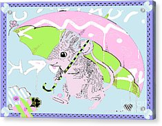 Nursery Baby Juvenile Licensing Art Acrylic Print
