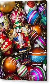 Nutcraker Ornament Acrylic Print by Garry Gay