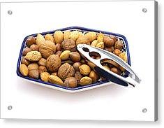 Nuts Acrylic Print by Tom Gowanlock