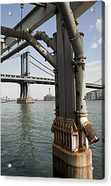 Ny Composition 4 Acrylic Print by Art Ferrier