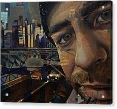 Ny Tony Acrylic Print by Jami Childers