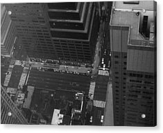 Nyc From The Top Acrylic Print