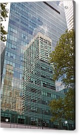 Nyc Reflection 2 Acrylic Print by Art Ferrier