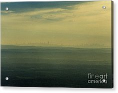 Nyc Skyline Acrylic Print by Thomas Luca