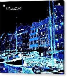 #nyhavn #copenhagen #denmark #landscape Acrylic Print