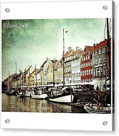 Nyhavn Acrylic Print