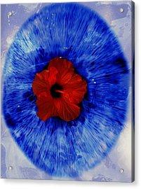 O Acrylic Print by Claudia Boeckelmann