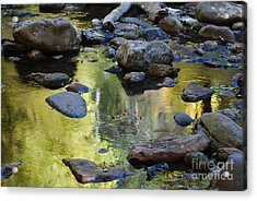 Acrylic Print featuring the photograph Oak Creek Reflection by Tam Ryan