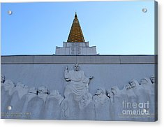 Oakland California Temple . The Church Of Jesus Christ Of Latter-day Saints . 7d11334 Acrylic Print by Wingsdomain Art and Photography