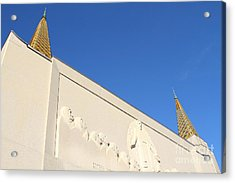 Oakland California Temple . The Church Of Jesus Christ Of Latter-day Saints . 7d11347 Acrylic Print by Wingsdomain Art and Photography