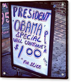#obama Special Continues You Guys Acrylic Print