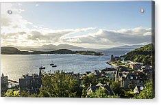 Oban Bay View Acrylic Print