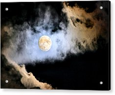 Obscured By Clouds Acrylic Print by Kristin Elmquist