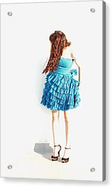 Obscured Acrylic Print by Lisa Phillips