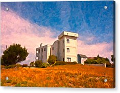 Observation Tower 1 Acrylic Print by Betsy Knapp