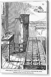 Observatory: Chronometer Acrylic Print by Granger