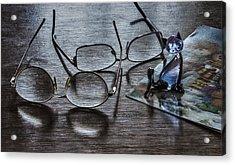 Occational Still Life Acrylic Print