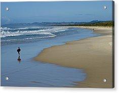 Ocean Beach Acrylic Print by Greg Elms