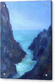 Ocean Chasm Acrylic Print