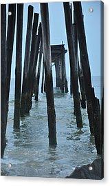 Ocean City 59th Street Pier Acrylic Print by Bill Cannon