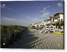 Acrylic Print featuring the photograph Ocean City Nj Sun Rise by Paul Plaine