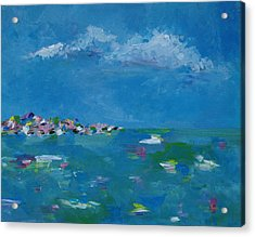 Ocean Delight Acrylic Print by Judith Rhue