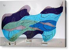 Ocean Acrylic Print by Eleanor Brownridge