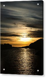Ocean Evening Acrylic Print by Hakon Soreide