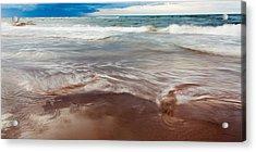 Ocean Panorama Acrylic Print by Matt Dobson