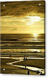 Ocean Play 2 Acrylic Print by Dale Stillman
