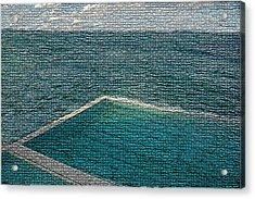 Ocean Pool Acrylic Print