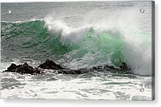 Acrylic Print featuring the photograph Ocean Spray by Michael Rock