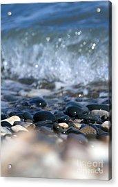 Ocean Stones Acrylic Print by Stelios Kleanthous