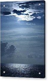 Ocean Sunrise Acrylic Print by Louise Mingua