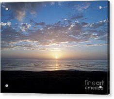 Ocean Sunset  Acrylic Print by The Kepharts