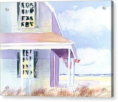 Ocean View Acrylic Print by Joseph Gallant