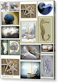 Ocean Whispers Acrylic Print