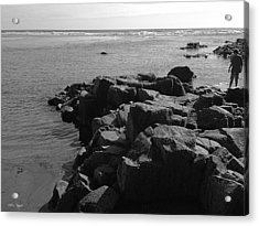 Acrylic Print featuring the photograph Oceanside Beach by Chriss Pagani