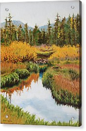 October Splendor Acrylic Print