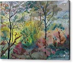 October Sunrise Acrylic Print