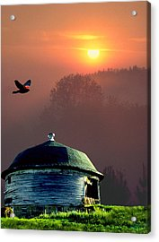 Of Setting Suns Acrylic Print