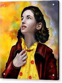 Ofelia's Dream Acrylic Print by Mary Hood