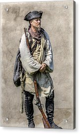 Off To Fort Pitt With Bouquet Acrylic Print by Randy Steele