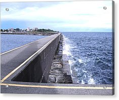 Ogden Point Breakwater Acrylic Print