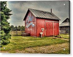 Ohio Barn Acrylic Print by Mary Timman