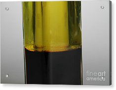 Oil And Vinegar Acrylic Print by Photo Researchers