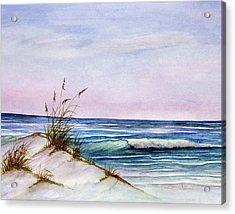 Okaloosa Beach Acrylic Print by Rosie Brown