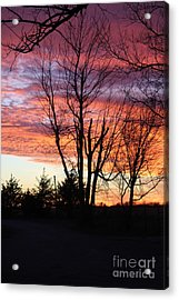 Oklahoma Sunset 3 Acrylic Print