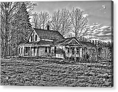 Old Abandoned Farmhouse Acrylic Print